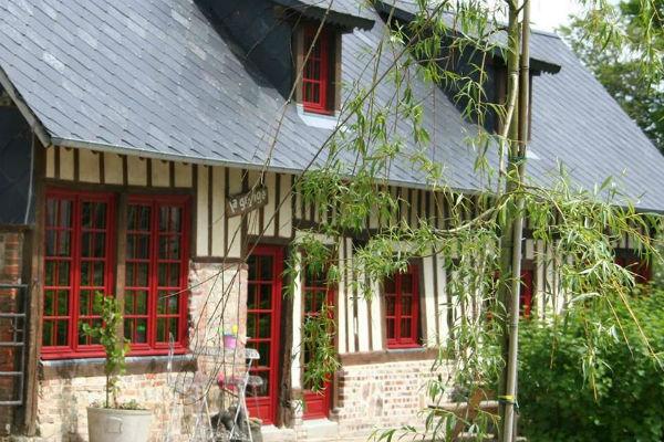 Gite La Grange in Normandie - voorkant
