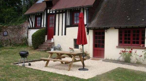 Kindvriendelijke tuin - vakantiehuis Normandië