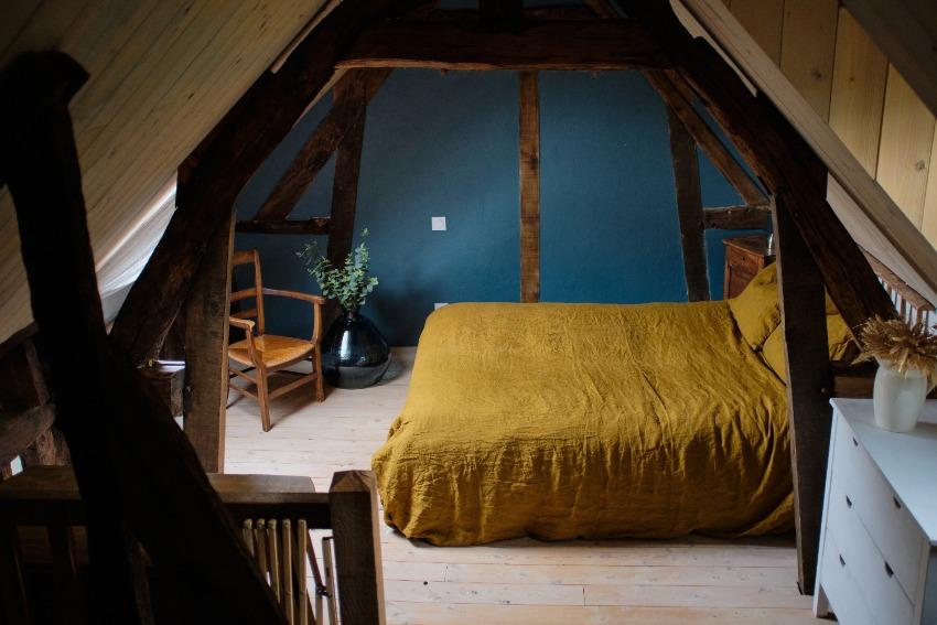 La Grange, slaapkamer